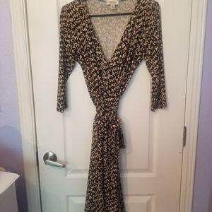 Talbots Wrap Dress Size 4P